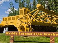 World Largest Tree Crusher