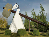 World's Largest Artificial Tomahawk