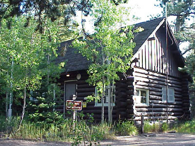 Wild  Basin  Ranger  Station And  House
