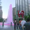 The Love Park Fountain