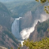 View Of Yellowstone Falls