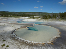 Yellowstone - Upper Geyser Basin - Wyoming - USA