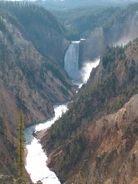 Yellowstone Fallls