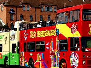 York Tourist Bus Photos