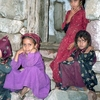 Young Girls At Wadi El-Marzunad