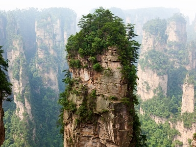 Zhangjiajie Park Views