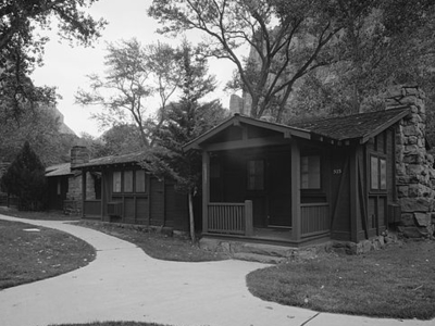 Zion Lodge Historic District - Zion - Utah - USA