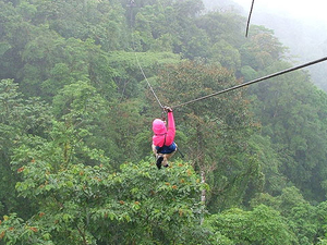 Waterfall Canopy Zipline Tour at Adventure Park Costa Rica Photos