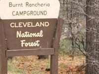 Cleveland Burnt Rancheria Campground