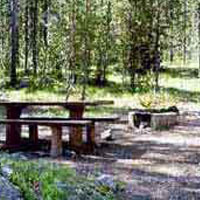Challis Lola Creek Campground