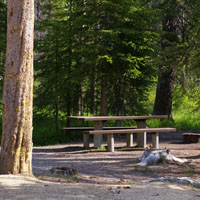 Sawtooth Alturas Inlet Campground