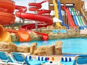 Aqua park in Sharm El Sheikh Photos