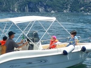 A whole day on Lake Como Photos