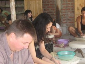 Bat Trang pottery village Photos