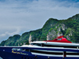 Boat Ticket First Class From Phuket To Phi Phi By Join Ferry Boat Photos