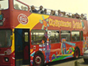Bristol tourist bus