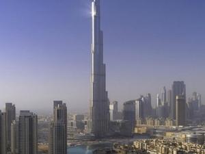 Burj Khalifa Tour & Musical Fountains Photos