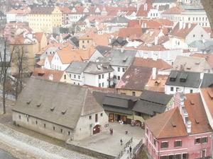 Cesky Krumlov Old Town and Castle Courtyards Photos