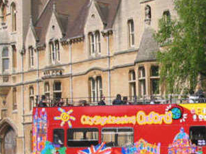 City Sightseeing Oxford hop on hop off tour