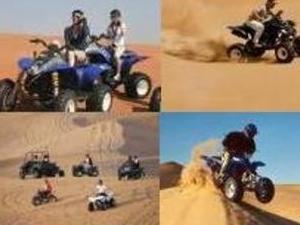 Conquer the Dubai Desert - Quad Biking Photos