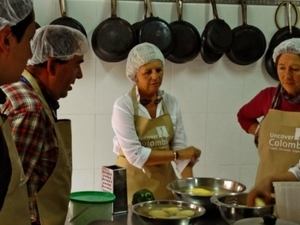 Cooking class in Bogota Photos