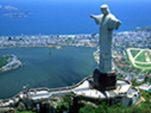Corcovado With Outside View from Maracana Stadium & Sambodromo Photos