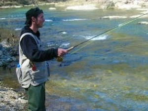 Fly fishing in Bulgaria Photos