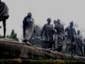 Gandhi's Delhi Photos