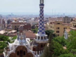 Gaudí and Sagrada Familia in the afternoon Photos