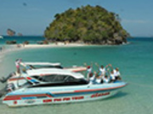 Half Day Krabi 4 Island By Speed Boat Photos