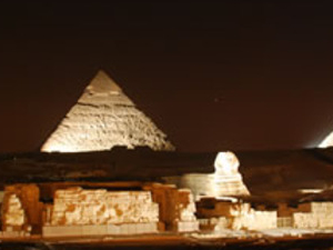 Half Day Pyramids Sound & Light Show Photos