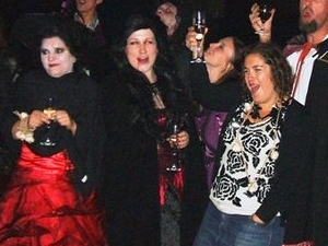 Halloween Party in Transylvania with Vlad the Impaler!