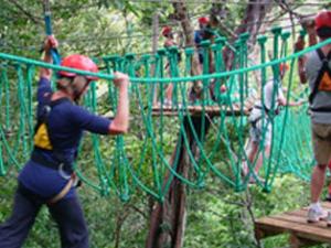 High Rope Course Photos
