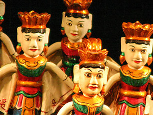 Ho Chi Minh City By Night - Vietnamese Water Puppets Photos