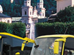 Hop on hop off Salzburg City Tour