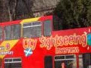 Inverness tourist bus Photos