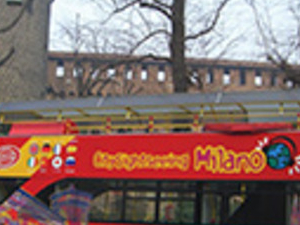 Milan tourist bus Photos