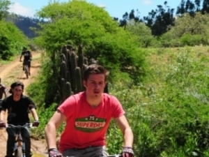 Mountain Biking & Hiking to the Secret Canyon