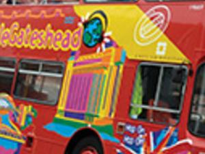 Newcastle and Gateshead tourist bus Photos