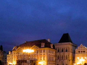 Prague Castle after Dark Photos