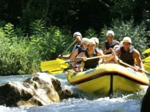 Rafting adventure on the river Cetina Photos