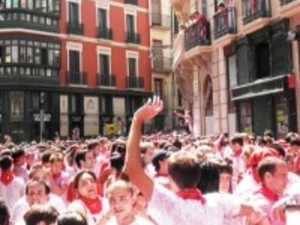 Running of the bulls Photos