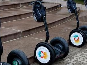 Segway tour around Kyiv parks Photos