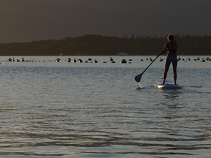 Stand-up-paddling (SUP) around Bay of Kotor and Lustica Photos