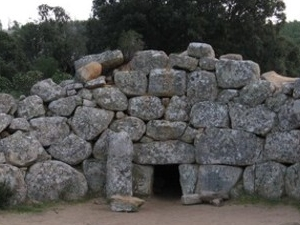 The tomb of the Giants of Is Concias in Quartucciu and the sacred nuragic well of Funtana Coberta in Ballao Photos