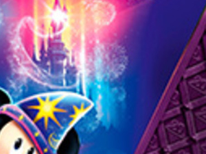 Train and Disneyland® Ticket Photos