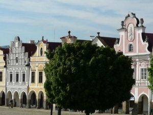 UNESCO world cultural heritage site - the town of Telč - Private Tour Photos