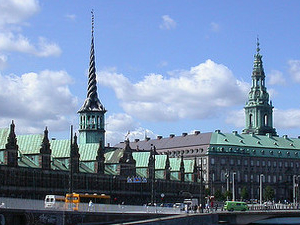 Visit to Christianborg Palace Parlament Photos