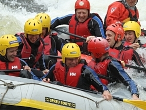 White Water Rafting River Tay Scotland Photos