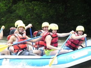 White Water Rafting (Chirripo River) Photos